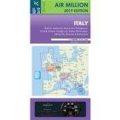 Carte VFR Italie et Suisse Air Million 2020