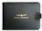 Pilot Logbook cover in leather