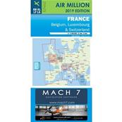 Carte VFR France Air Million jour 2020