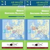 Carte VFR Grèce Air Million ZOOM 2021