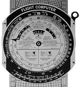 Aluminium Slide Graphic Flight Computer