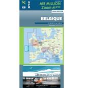 VFR Chart Belgium and Luxembourg Air Zoom+ 2020