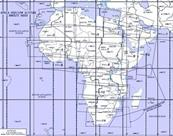 Carte IFR Afrique Enroute HIGH/LOW altitude AHL 3/4